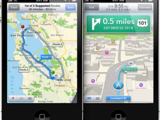 iOS 6 Maps Turn by Turn