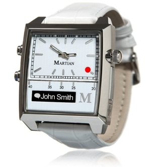Martian Passport Watch