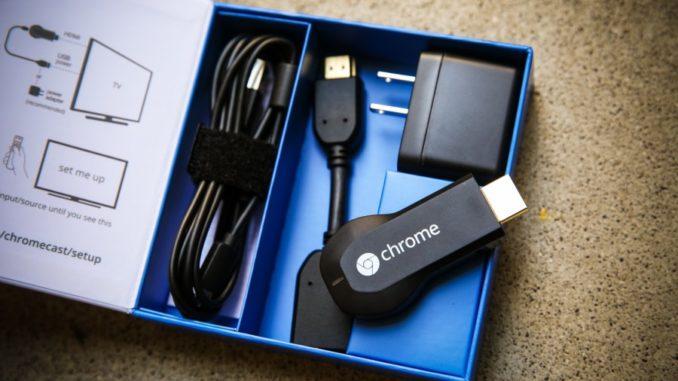 Google Chromecast Packaging