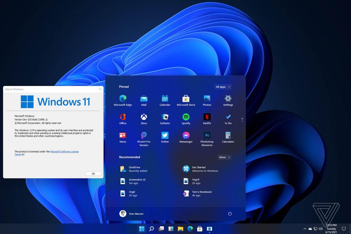 Update vers Windows 11